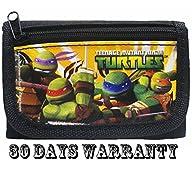 Ninja Turtles Black Trifold Wallet