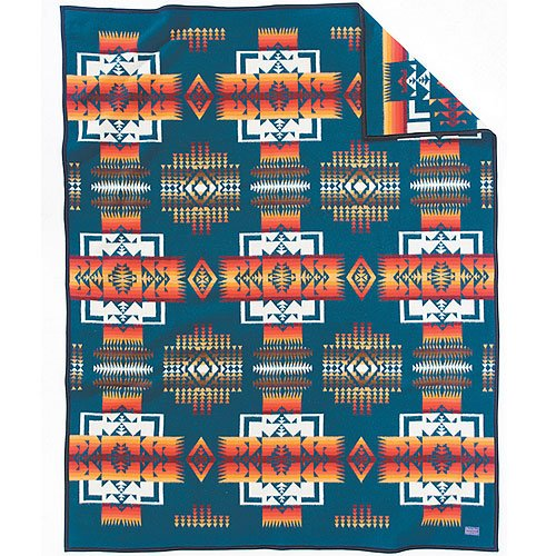 Pendleton Blanket: Chief Joseph Aegean front-215666