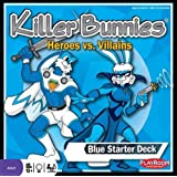 Killer Bunnies Heroes vs. Villains Blue Starter