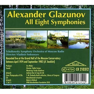 Les symphonies de Glazounov 61WAFq%2Bfn5L._SS400_