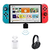 Type-C Mini Wireless Bluetooth 4.0 USB Audio Transmitter Adapter Dongle to Headphones Headset Compatible for Nintendo Switch / PS4 / Laptop PC on Windows 10 8 7