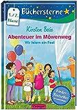 Abenteuer im Möwenweg: Wir feiern ein Fest: Mit 16 Seiten Leserätseln und -spielen