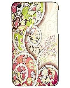 Htc Desire 816 Back Cover Designer Hard Case Printed Cover