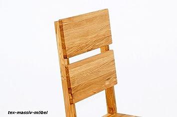 esszimmerst hle 2er set massivholz wildeiche ge lt dora dc409. Black Bedroom Furniture Sets. Home Design Ideas