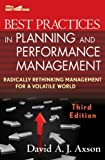 img - for Best Practices in Planning and Performance Management: Radically Rethinking Management for a Volatile World (Wiley Best Practices) book / textbook / text book