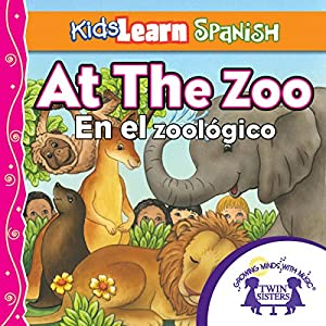 Kids Learn Spanish: At the Zoo (Counting) Audiobook