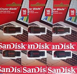 SanDisk Cruzer Blade USB 2.0 Flash Drive