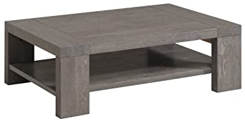 Bristol Gray French Oak Coffee Table