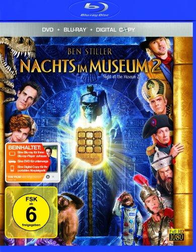 Nachts im Museum 2 (Blu-ray inkl. DVD mit Digital Copy)