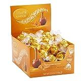 Lindt LINDOR Caramel Milk Chocolate Truffles Kosher, 60 Count Box (Tamaño: 25.4 Ounce (Pack of 1))