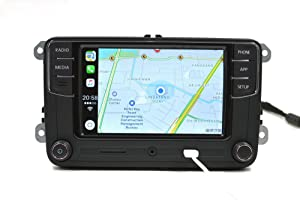 Amzparts Android Auto CarPlay APP R340G RCD330 RCD330G Plus 6.5 MIB Car Radio for Golf 5 6 Jetta CC Tiguan Passat Polo (Color: Noname, Android Auto)
