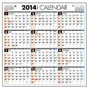 カレンダー 2014 カレンダー 年間 : ... カレンダー 卓上 カレンダー