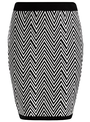 oodji-collection-donna-gonna-in-jacquard-a-zig-zag-nero-it-48-eu-44-xl