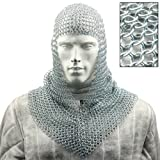 Battle Ready Chain Mail Coif Armor