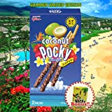 Pocky Sticks -Japan Glico Pocky Cookies Snacks (Limited Coconut Flavors) Bonus Set