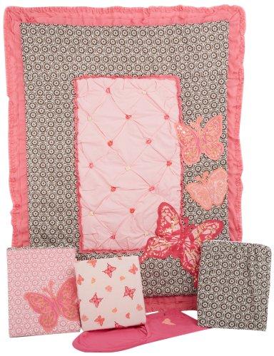 Summer Infant 5 Piece Crib Bedding Set, Juliette