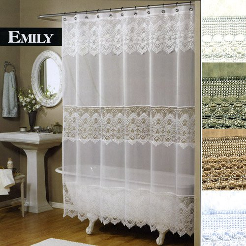 lace shower curtains images