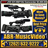 JVC GY-HM710U ProHD COMPACT SHOULDER SOLID STATE CAMCORDER W/14X CANON LENS