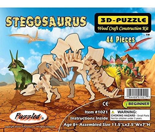 Creatology Wooden Puzzle Stegosaurus - 1