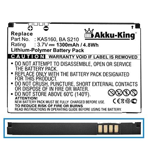 akku-king-batterie-pour-htc-tytn-ii-p4550-kaiser-vodafone-v1615-t-mobile-mda-vario-3-o2-xda-stellar-