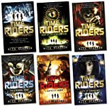 Alex Scarrow TimeRiders Pack, 6 books, RRP £41.94 (Time Riders; Gates Of Rome; City of Shadows; The Doomsday Code; Day Of The Predator; The Eternal War).