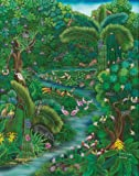 Jeyselle Solentiname Jungle Wooden Jigsaw Puzzle