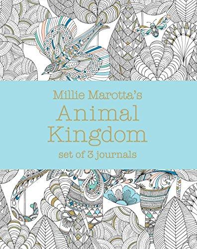 Download Millie Marottas Animal Kingdom Set Of 3 Journals A Millie Marotta Adult Coloring