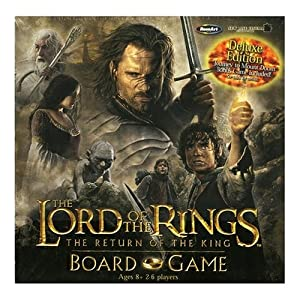 Lord of the Rings Return of the King Deluxe Game Board Game