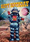 Birthday Greetings Card - Alien Robot - By Max Hernn