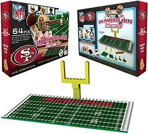 NFL San Francisco 49ers Endzone Toy Set by OYO