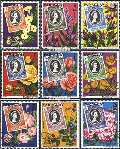 Paraguay 3081-3089 (kompl.Ausg.) gestempelt 1978 Krönung von König Elisabeth II. (Briefmarken für Sammler)