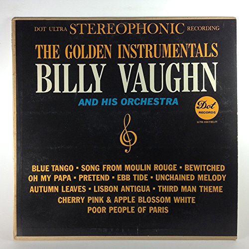 billy vaughn - [lp Record] The Golden Instrumentals Of Billy Vaughn And His Orchestra - Zortam Music