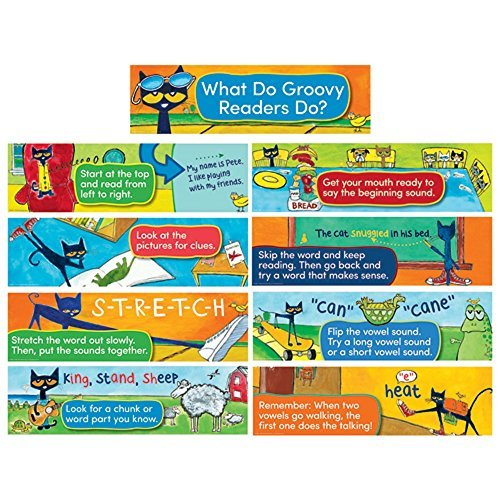Pete the Cat Mini BBS Reading (Pete The Cat Bulletin Board Set compare prices)