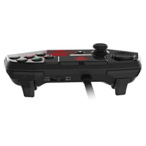 Mad Catz Street Fighter V FightPad PRO for PlayStation4 and PlayStation3 - Black (Color: Black)