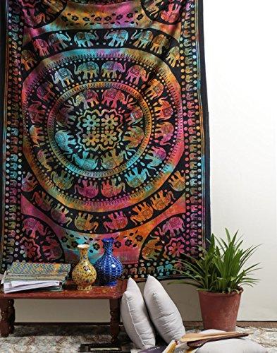 indische-ethnisch-wandteppich-indisch-85x55-einzigartig-schwarz-wandbehang-baumwolle-tapisserie-elep