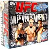 Topps 2010 UFC Ultimate Fighting Championship Main Event Uncaged HOBBY EDITION Trading Card Box 24 Packs