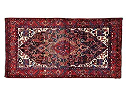 5\'x10\' Persian Nahavand Gallery Size Mint Cond Hand Knotted Oriental Rug G23042