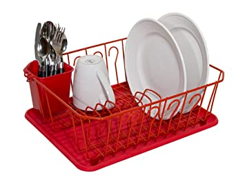 Ultra-Compact Viynl Dish Rack System