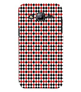 Fuson Premium Lets Play Chess Printed Hard Plastic Back Case Cover for Samsubg Galaxy J2