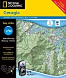 National Geographic Topographical Georgia (0792283791) by National Geographic Society (U.S.)