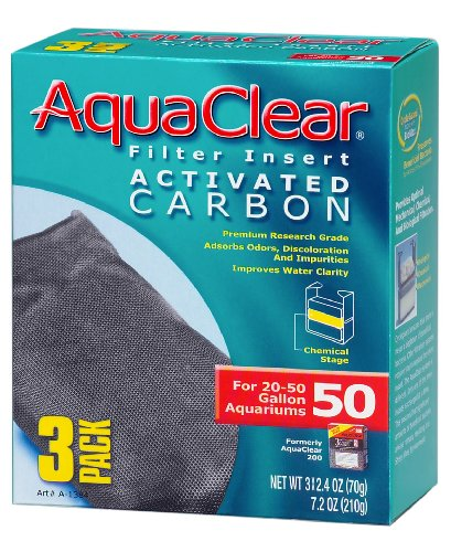 Aquaclear Activated Carbon Insert, 50-Gallon