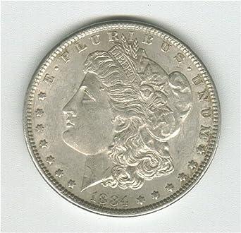 1884 Morgan Silver Dollar AU