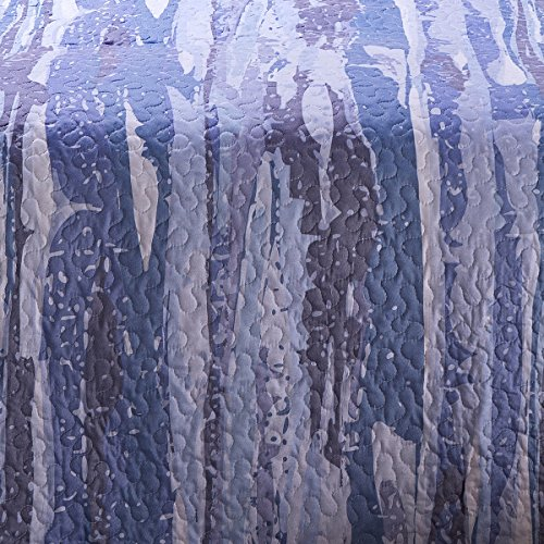 Sancarlos - Bouti fabian moderno azul - relleno ligero - esquinas redondeadas - varias medidas disponibles