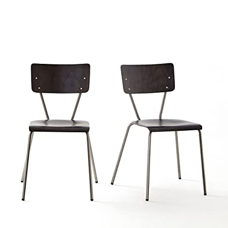 La Redoute Interieurs Chaise Vintage, Lot De 2, Hiba Taglia 1 Nero
