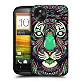 Head Case Designs Tiger Aztec Animal Faces Protective Snap-on Hard Back Case Cover for HTC Desire X