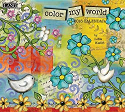 Color My World 2013 Wall Calendar