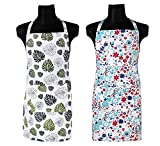 PEP HOME 100% COTTON APRON-SET OF TWO