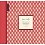 Polka Dots RedWhie Large 12 Scrapbook Memory Book Photo Album 12x12