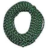 Nite Ize Reflective Nylon Cord, Woven for High Strength, 50 Feet, Green