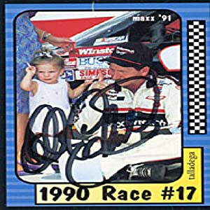 Dale Earnhardt Autographed Signed 1991 Maxx No.187 of 240 Racing Card by Maxx
